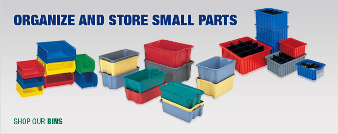 Organize and Store Small Parts