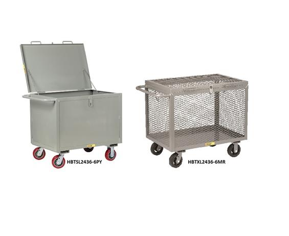 ALL-WELDED BOX TRUCKS WITH HINGED LID