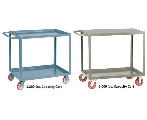 ALL-WELDED SERVICE CARTS