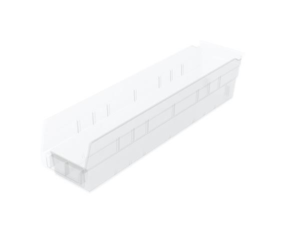 CLEAR SHELF BINS