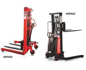 MANUAL AND SEMI-ELECTRIC STACKERS